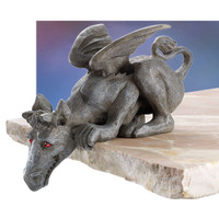 Winged Dragon Shelf Sitter - New Age, Spiritual Gifts, Yoga, Wicca, Gothic, Reiki, Celtic, Crystal, Tarot at Pyramid Collection