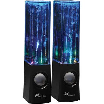 Xcellon Dancing Water Speakers - Four LEDs (Black) DWS-100B B&H | B&H Photo Video