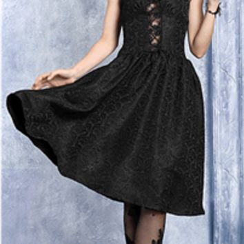 Embrace Me Gothic Prom Dress.