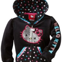 Hello Kitty Girls' HK Hoodie With Foil Screen