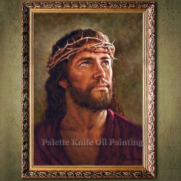 Jesus Christ Jesus Canvas Posters and Prints Wall Art Pictures for living room Home Decor cuadros decoracion Oil painting 76