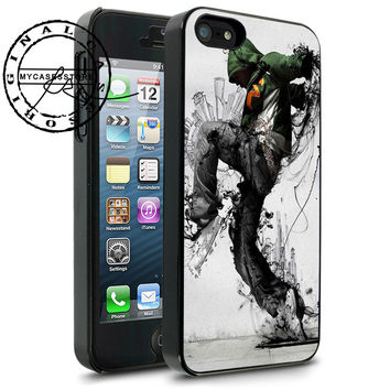 Breakdancer Hip Hop Art iPhone 4s iPhone 5 iPhone 5s iPhone 6 case, Samsung s3 Samsung s4 Samsung s5 note 3 note 4 case, Htc One Case