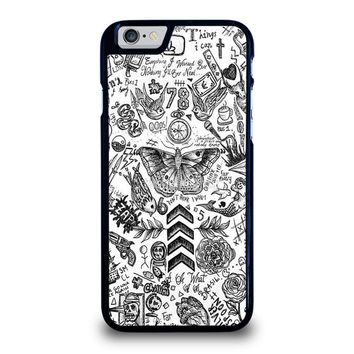 ONE DIRECTION TATTOOS iPhone 6 / 6S Case