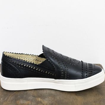 So Nice Laser Cut Slip On