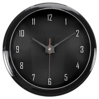 Customizable Black Fish Bowl Clock