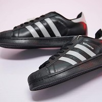 "Adidas superstar Classic Sneaker ""Black&Sliver 3M""BB9200"