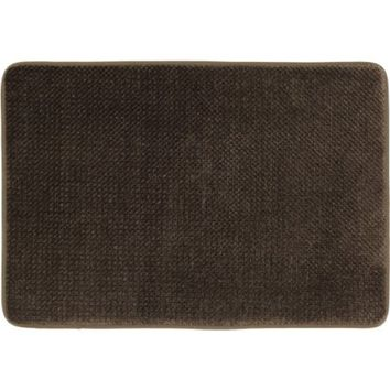 "Mohawk Home Popcorn Memory Foam Bath Rug, 1'5"" x 2', Chocolate"