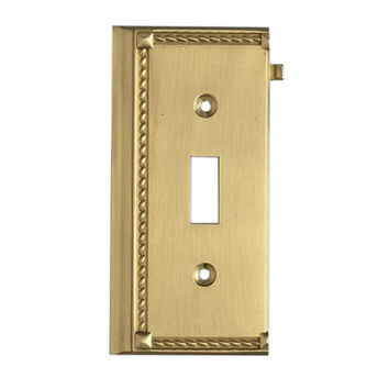 Elk Lighting 2507BR Brass End Switch Plate