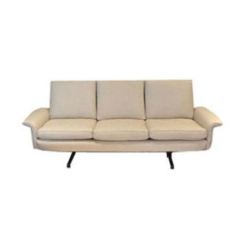 Pre-owned Vintage Danish Modern 3-Seat Sofa