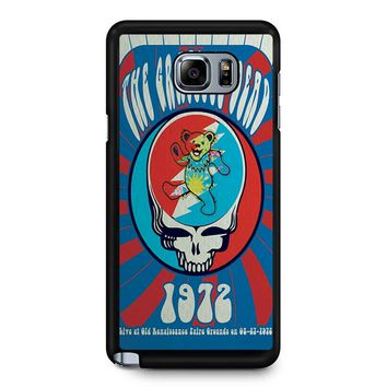 The Grateful Dead Poster Samsung Galaxy Note 5 Case