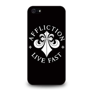affliction iphone 5 5s se case cover  number 1