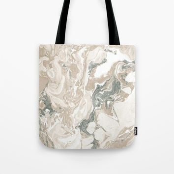 Marble Stone Tote Bag by allisone