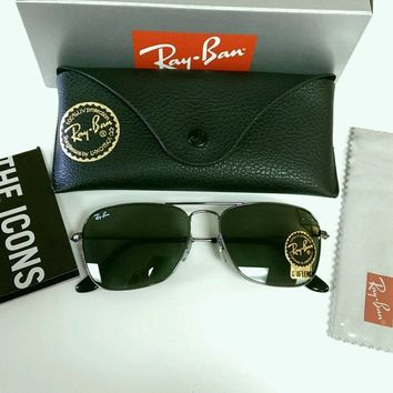 Cheap New Authentic RayBan 3136 Caravan Aviator Sunglasses Retail $150!! outlet