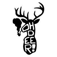 Oh Deer! Character-Type Wall Decal