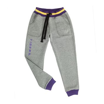 Louisiana State University Marl Drop Waist Jogger