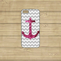 iphone 5C case,iphone 5S case,iphone 5S cases,iphone 5C cover,cute iphone 5S case,cool iphone 5S case,grey chevron,anchor case,in plastic.