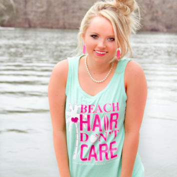 JADELYNN BROOKE: Beach Hair Don't Care Tank