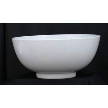 Dover Metals Company P-855B 16-Inch Round White Porcelain Serving Bowl