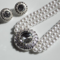 Pearl Bridal Necklace for the bride on a budget