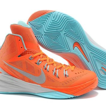 NIke Zoom Hyperdunk  Orange Red /Mint Green  Basketball  Shoes