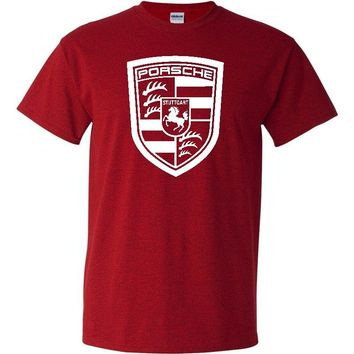 Porsche Antique Cherry Red T-Shirt