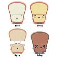 USB Toast 8GB Flash Drive by Smoko | myplasticheart