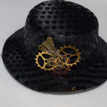 Steampunk Mini Hat