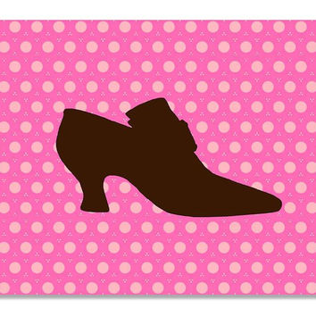 Princess Shoes I Children's Print Wall Art