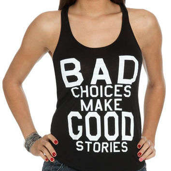 Verbiage Tank | Shop Tops at Wet Seal