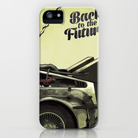 Back to the future iPhone & iPod Case by Duke.Doks