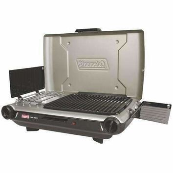 Coleman PerfectFlow&trade Portable Camp Propane Grill