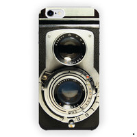Black Vintage Camera Rolleiflex For iPhone 6 / 6 Plus Case