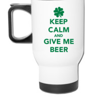 Keep calm And Give Me Beer - Travel Mug