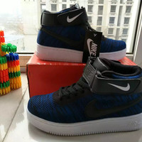 """NIKE"" Fashion Casual Multicolor Flying Weave High Help Shoes Unisex Sneakers Couple Running Shoes"