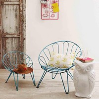 Iron Umbrella Chairs - Let's Go Outside