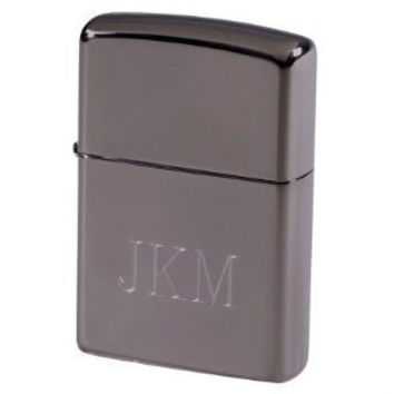 Zippo Black Ice Lighter, Personalized, Free Engraving!