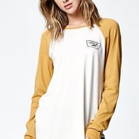 Vans Authentic Rags Long Sleeve Raglan T-Shirt - Womens Tee - White