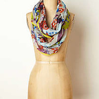 Anthropologie - Washed Lantana Scarf