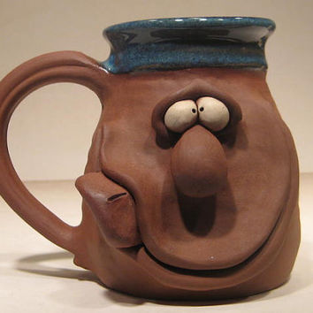 Happy Tongue Out Mug ........ e422