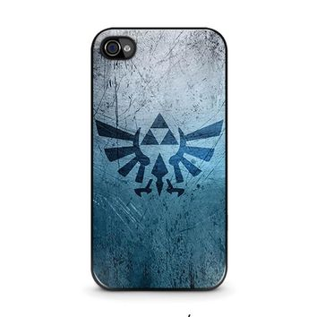 legend of zelda 2 iphone 4 4s case cover  number 1