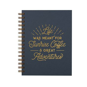 Ruff House Art - Sunrise Coffee Journal