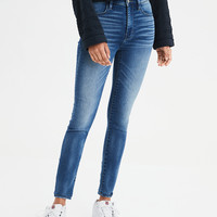 AE Super Soft Super High-Waisted Jegging, Blues Spark