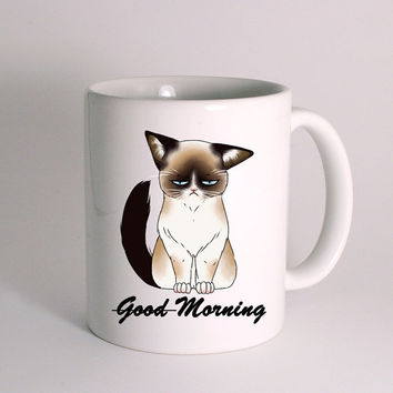 Grumpy Cat - Good Morning for Mug Design