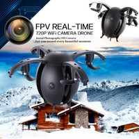 2017 Egg Shaped Mini Done With Camera 0.3MP 668-A6HW RC Quadcopter Wifi APP Control Selfie Drone Helicopter Aircraft FPV Dron