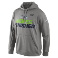"Nike Super Bowl ""Never Finished"" (NFL Seahawks) Men's Hoodie"