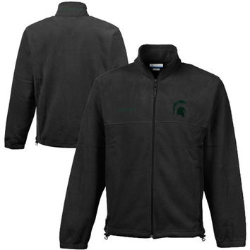 Michigan State Spartans Columbia Flanker II Jacket – Charcoal