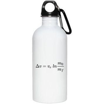 DCCKJY1 Ideal Rocket Equation 20 oz. Stainless Steel Water Bottle