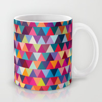 Triangles Mug by Ornaart