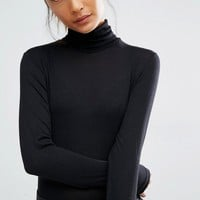 First & I Jersey Rollneck