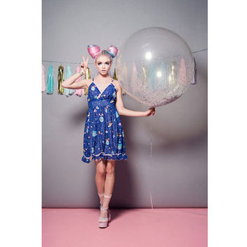 Rilakkuma Space Babydoll Dress